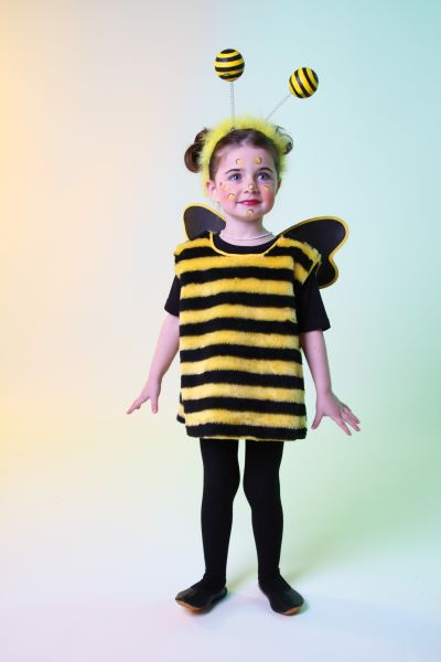 Biene Bienchen Bienenkostum Tierkosum Hummel Brummer 92 98 104 116