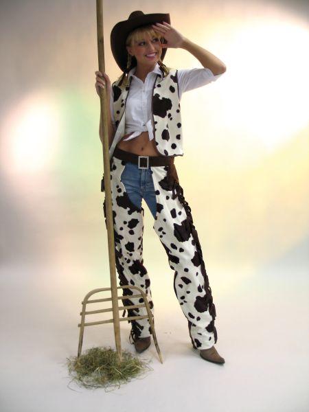 cowboy chaps buffalo frau karneval fasching kost m ebay. Black Bedroom Furniture Sets. Home Design Ideas