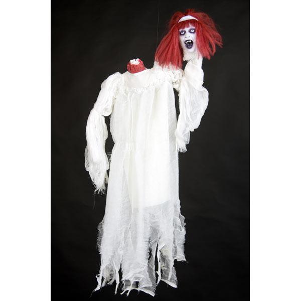halloween grusel horror dekoration kopflose frau ebay. Black Bedroom Furniture Sets. Home Design Ideas