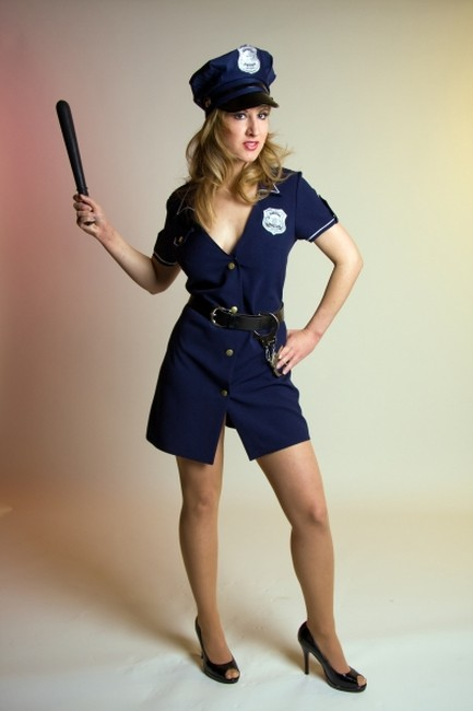 polizistin polizei sexy kost m karneval fasching party. Black Bedroom Furniture Sets. Home Design Ideas