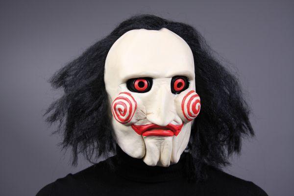 saw maske karneval fasching halloween horror party. Black Bedroom Furniture Sets. Home Design Ideas