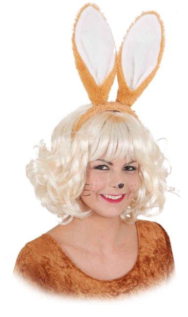 hasenohren gro hase braun ostern bunny karneval fasching. Black Bedroom Furniture Sets. Home Design Ideas