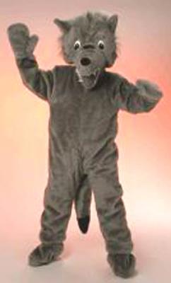 Wolf Kostum Big Wolf Karneval Maskottchen Fasching