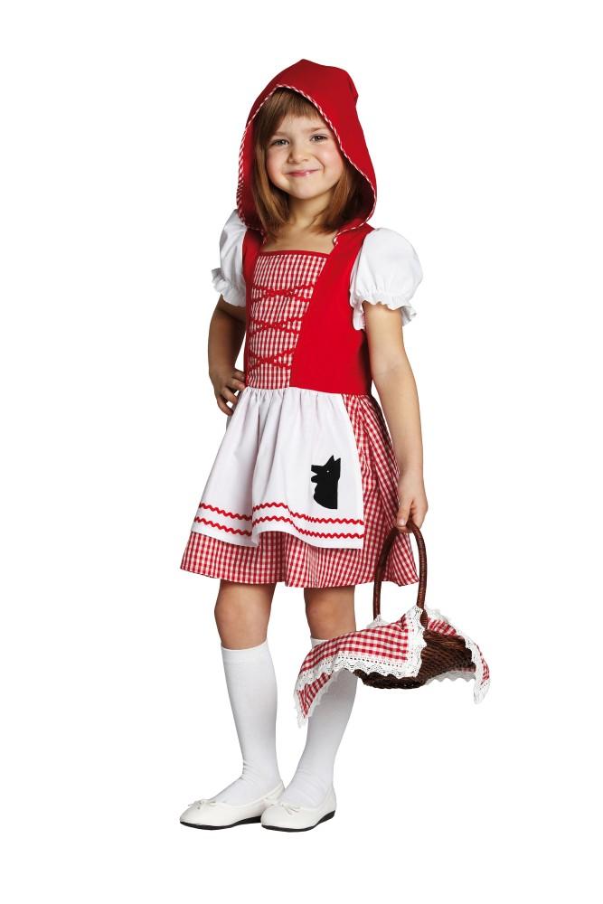Rotkappchen Kleid Kostum Fur Kinder Der Bose Wolf 104 116 128 140