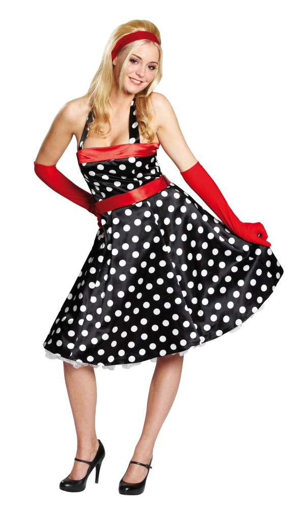 50er 60er jahre kleid rockabilly rock n roll kleid fasching damenkleid party ebay. Black Bedroom Furniture Sets. Home Design Ideas