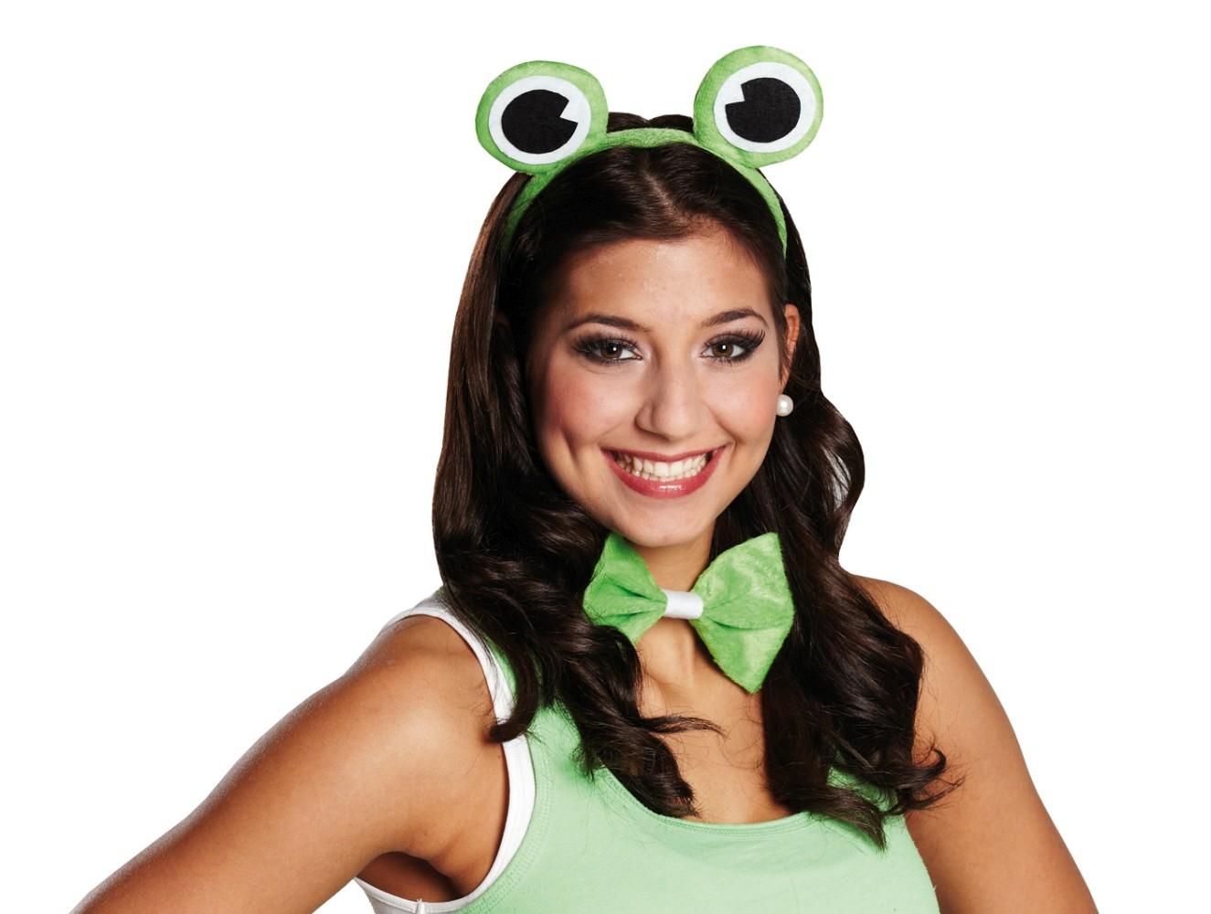frosch frosch set 2teilig frogger karneval tierkost m fasching. Black Bedroom Furniture Sets. Home Design Ideas