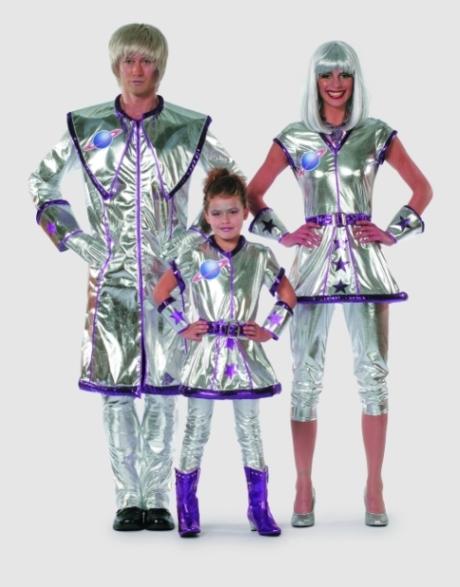 Astro Star Kinder Weltall Raumschiff Karneval Fasching 116 140