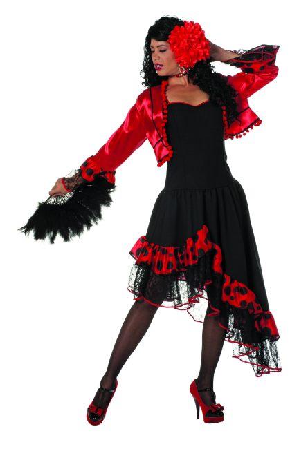 spanierin flamenco zigeunerin kost m karneval fasching. Black Bedroom Furniture Sets. Home Design Ideas