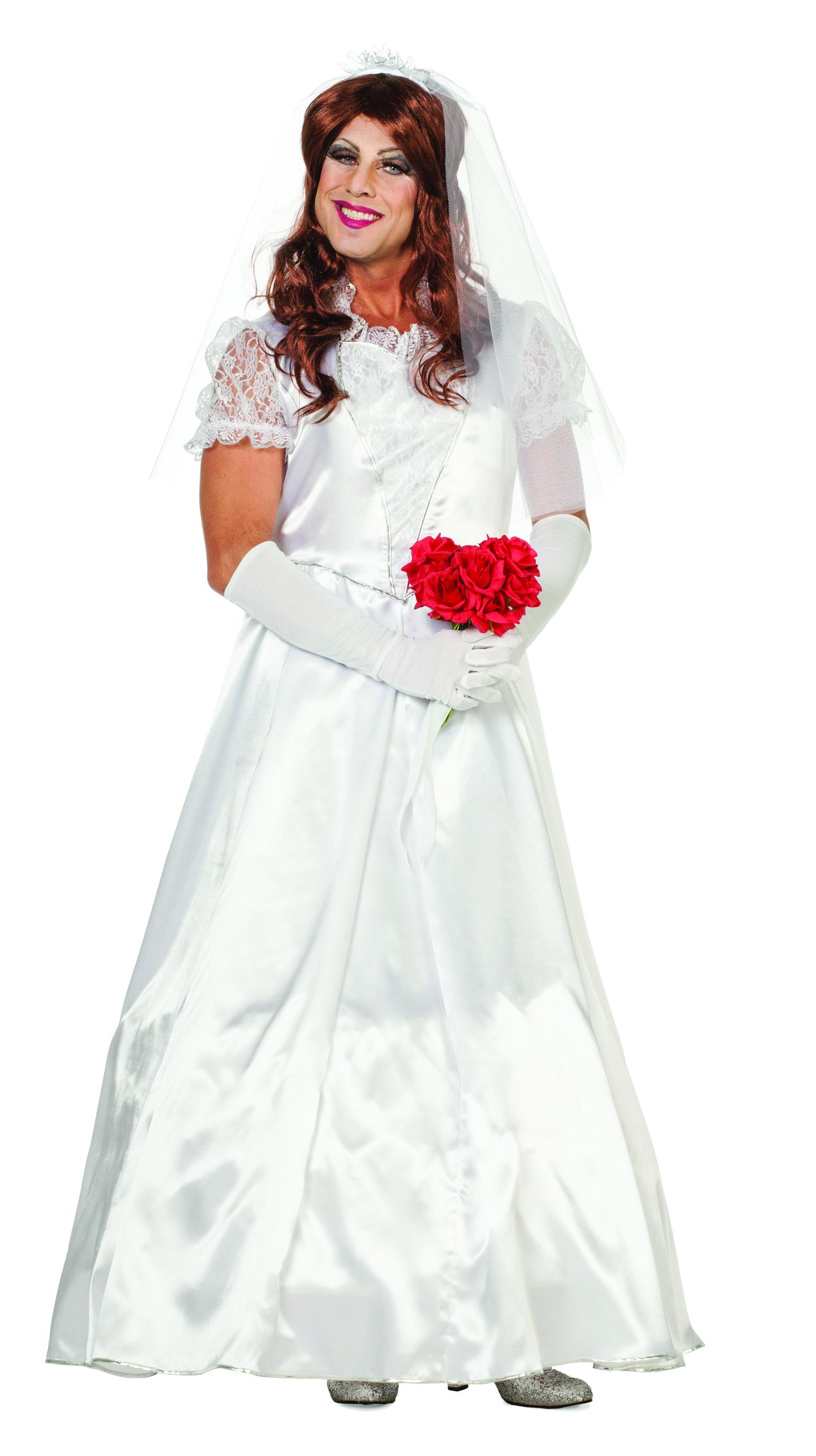 Jungesellenabschied Hochzeitskleid Brautkleid für Herren Herrenkleid
